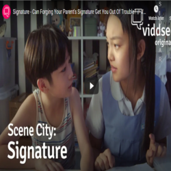 Signature – Can Forging Your Parent's Signature Get You Out Of Trouble